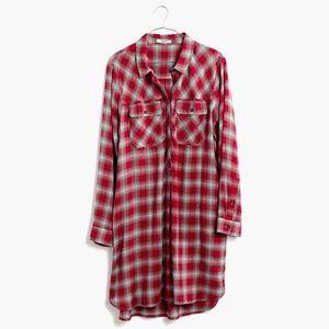 daywalk shirtdress in fairfax plaid