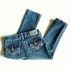 Levi's Other - Levi's Toddler Girl Skinny Jeans Adjustable Waist