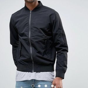 Jack and Jones Other - Jack & Jones Core Bomber Jacket w/MA-1 Pocket