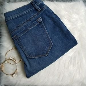 LOFT Denim - LOFT Modern Cuffed Crop Jeans Size 0