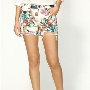 Free People Pants - Free people floral shorts