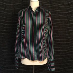 Thomas Pink Tops - Thomas Pink French Cuff Button Top Size 12