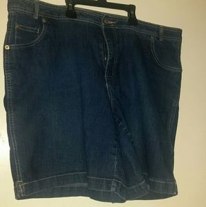 Just My Size Pants - 18W denim shorts, JMS