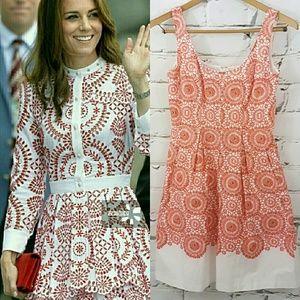 Nine West Dresses & Skirts - Kate Middleton-esque* Fit & Flair Summer Dress