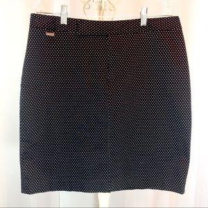 Ralph Lauren Dresses & Skirts - Ralph Lauren B&W Polka Dot Skirt Sz 12 EUC