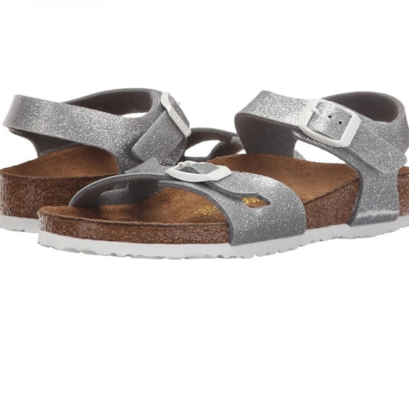 aa1c7aad241a Toddler Infant Girls BIRKENSTOCK RIO Silver