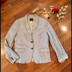 J. Crew schoolboy jacket