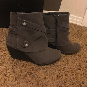 Blowfish Shoes - Blowfish wedge booties