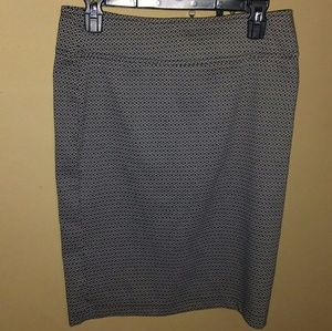 Soho Apparel Dresses & Skirts - Black & White Printed Skirt