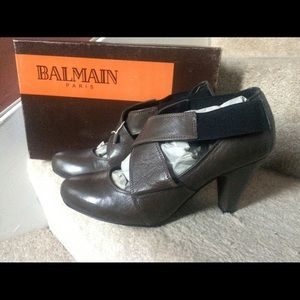 Balmain Shoes - New BALMAIN Leather Pump Shoes women sz EU38/US8