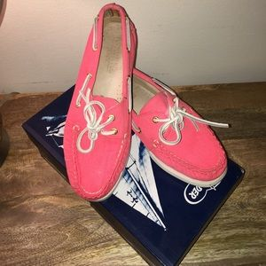 Sperry Shoes - Sperry for J. Crew Top-Siders - Pink Canvas
