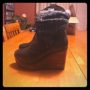 Bed Stu Shoes - Bed stu distressed sweater boots.