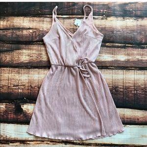 Dresses & Skirts - Shimmer Wrap Style Dress