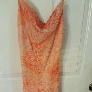 Jodi Kristopher Dresses & Skirts - Jodi Kristopher Peach and orange dress