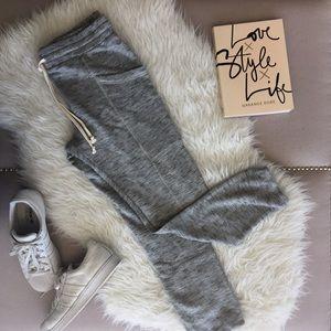 Mono B Pants - Mono B Gray Joggers With Pockets