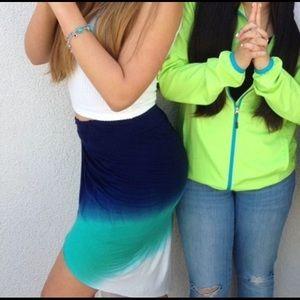 Young Fabulous & Broke Tie Dye skirt