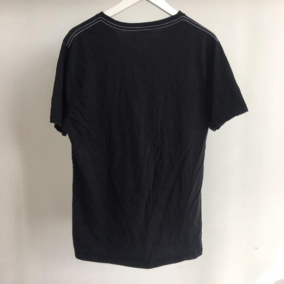 DKNY Shirts - DKNY Jeans V-neck Graphic T-Shirt