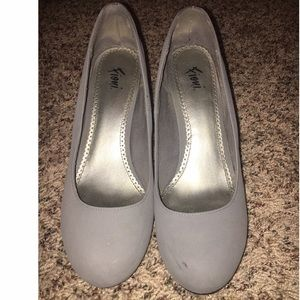 FIONI Clothing Shoes - Grey Heels/Pumps 3.5 inches, soft material