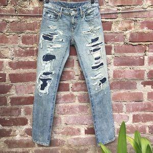Denim & Supply Ralph Lauren Denim - Denim & Supply Ralph Lauren skinny boyfriend jeans