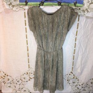 ❗️flash sale Michael kors green marble print dress