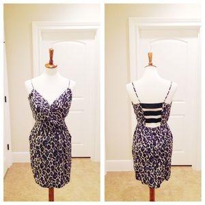 Charlie Jade Dresses & Skirts - 100% Silk Charlie Jade leopard print dress - M