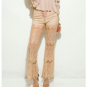 Pants - 🌟Lacey Boho flared pants