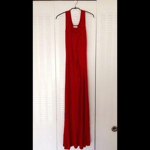 Calvin Klein Dresses & Skirts - Calvin Klein Maxi Dress Red