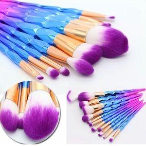 0184083b Other - New 12pcs Unicorn Makeup Brushes Set