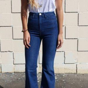 Ketiketa Denim - Cropped Flare Skinny Jeans