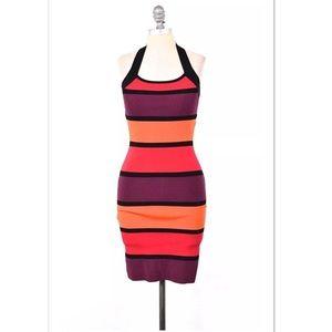 Express Dresses & Skirts - EXPRESS striped knit bandage party dress