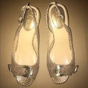 Cole Haan Shoes - 💲⬇️💙COLE HAAN💙Vintage Leather slingbacks /Heels