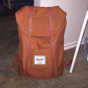 Herschel Supply Company Handbags - Herschel dark orange Retreat BackPack