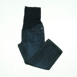 Liz Lange for Target Denim - Liz Lange Maternity Denim Jeans Capri Size 10