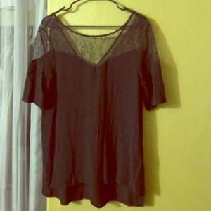 Brandy Melville Tops - Lacey black top