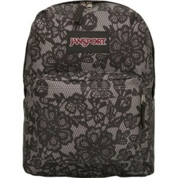 40% off Jansport Handbags - Black lace backpack from Ana's closet ...