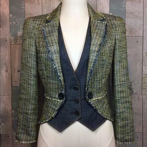 Alexander McQueen Jackets & Blazers - Tweed Denim Blazer by Alexander McQueen