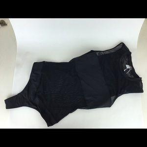 Cosabella Other - Cosabella black sheer panel bodysuit