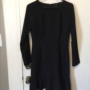 Black conservative Banana Republic dress size 4