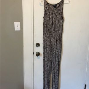 Lucky Brand floral jumpsuit