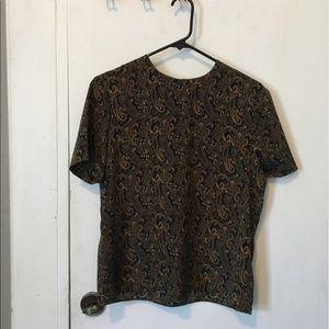 Vintage paisley top