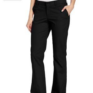 Dickies Pants - Women's Slim Fit Boot Cut Stretch Twill Pant 22R