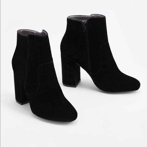 f308f88ba6d5 Mango Velvet Ankle Boots. M 59006ea1ea3f36212e010599