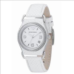 Emporio Armani Accessories - Emporio Armani Watch with Diamonds
