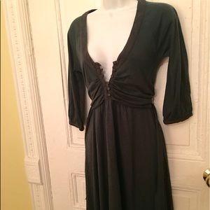 Lux Dresses & Skirts - Free🔥Moss green💕pretty dress🎉🎉🎉