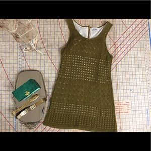 Retro Especially by Wallace crochet dress size sm