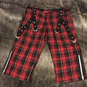 Tripp nyc Pants - Tripp Plaid Capris