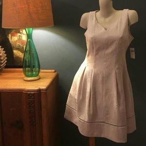 Taylor Dresses & Skirts - NWT Taylor Champagne Antique Floral Jacquard Dress