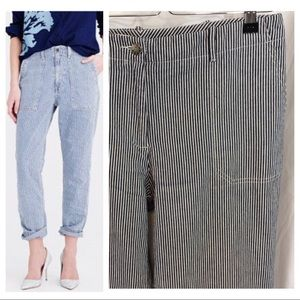 Denim - Railroad Stripe Jean