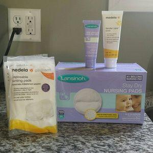 Lansinoh Other - Breastfeeding Bags, Pads, Lanolin Bundle
