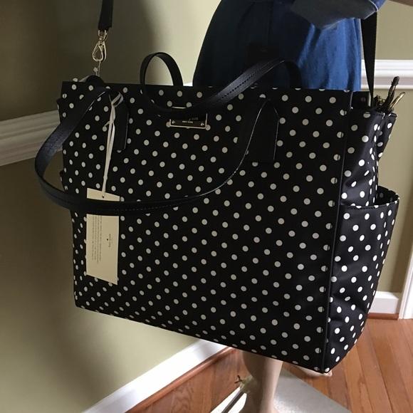 4431e810977 Gorgeous Hugh Kate Spade ♤ Diaper Bag New Mom 💗